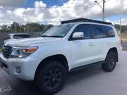 2015 Toyota LandCruiser 200 series VX wagon white Caloundra Caloundra Area Preview