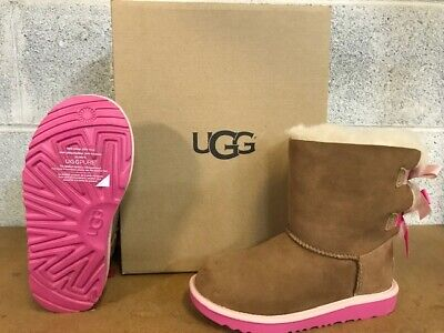 Ugg Girls Bailey Bow (UGG  BAILEY BOW II   CPAL )