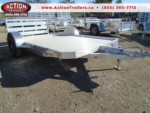ULTIMATE aluminum 6.5x12' utility trailer w/aluminum deck