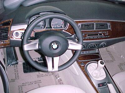 2003-2008 BMW Z4 Wood Grain Dash Trim Kit Bmw Wood Dash Kits