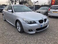 2005 BMW 5 Series 2.5 523i M Sport 4dr LEATHER+LONG MOT