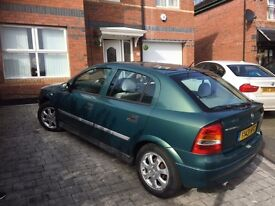 PRIVATE 2001 VAUXHALL ASTRA 1.6 PETROL FOR SALE MOT TILL MAY 2017 £400 ONLY