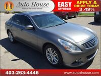 2012 Infiniti G37X AWD Sedan NAVIGATION PUSHBUTTON BACKUP CAMERA