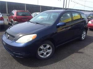 Toyota Matrix XR AWD 2003 Automatique 3400$