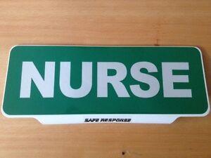 NURSE-with-Reflective-Silver-Text-univisor-Sign-visor
