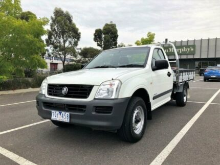 2005 Holden Rodeo RA LX White 5 Speed Manual Cab Chassis Fawkner Moreland Area Preview