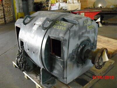 600 Hp General Electric Dc Electric Motor 1800 Rpm Fr 5543 Dpfvbb 500 V Eok