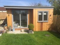 Garden office/ outhouse/ man cave/ pergola/ fencing