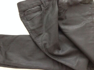 Express Coated Leather Jeans *NEW