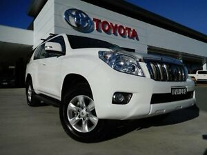 2011 Toyota Landcruiser Prado KDJ150R GXL (4x4) White 6 Speed Manual Wagon Greenway Tuggeranong Preview