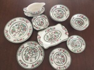 Vintage Dishes - Indian Tree series