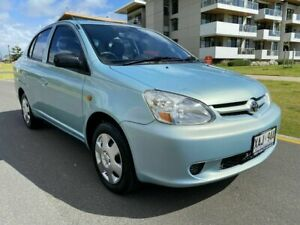2004 Toyota Echo NCP12R MY03 Green 4 Speed Automatic Sedan Somerton Park Holdfast Bay Preview