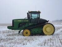 2000 John Deere 9400t crawler track tractor