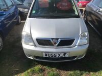 VAUXHALL MERIVA 1.4 VERY GOOD CONDITION DRIVES PERFECT NO FAULTS ECONOMICAL AND RELIABLE