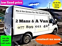 2 MANS & A VAN - BARGAIN REMOVALS & MAN & VAN SERVICE FOR THE CARDIFF AREA