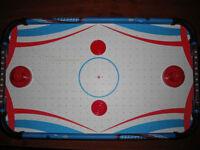 kids mini tabletop hockey table