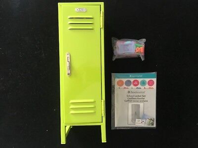 AMERICAN GIRL SCHOOL LOCKER SET NEW IN ORIGINAL AMERICAN GIRL BOX BOX