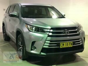 2017 Toyota Kluger GSU50R GX Silver Sports Automatic Wagon Campbelltown Campbelltown Area Preview
