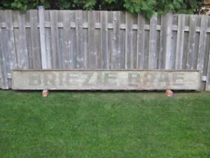 1800's Wooden Painted Sign