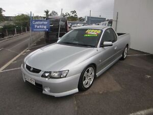 2004 Holden Ute VY II SS Silver 4 Speed Automatic Utility Buderim Maroochydore Area Preview