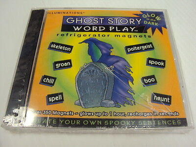 Word Play 350Refrigerator Magnet Ghost Halloween Learn Vocabulary Teacher Reward (Halloween Vocabulary Words)