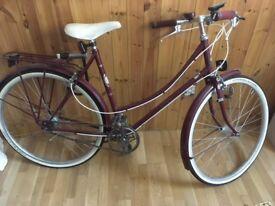 Beautiful Women's Dutch Bike
