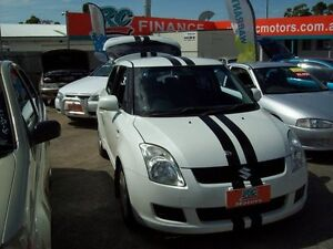 2008 Suzuki Swift RS415 RE1 White 5 Speed Manual Hatchback Capalaba West Brisbane South East Preview