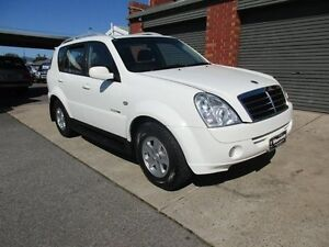 2009 Ssangyong Rexton II Y200 MY08 RX270 XDI (7 Seat) White 5 Speed Automatic Wagon Holden Hill Tea Tree Gully Area Preview