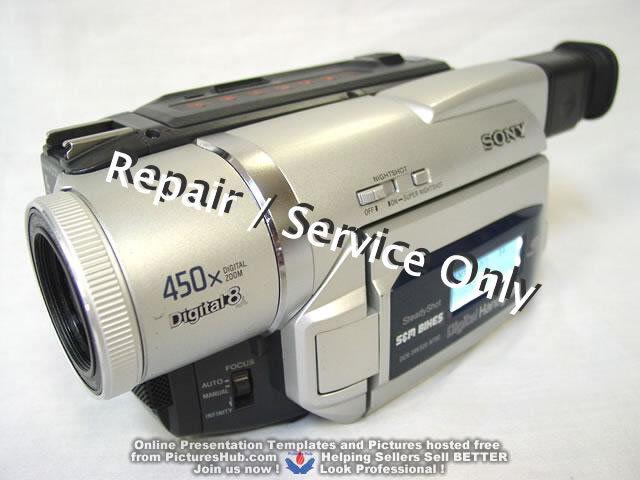 REPAIR / SERVICE of SONY Handycam DCR-TRV720 520 320 120 Camcorder (*READ 1st*)