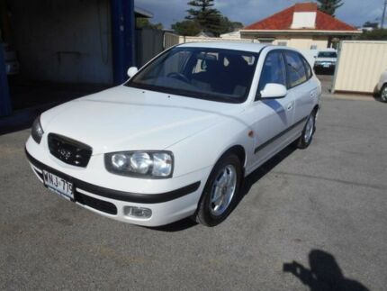 2001 Hyundai Elantra XD GLS White 4 Speed Automatic Hatchback Christies Beach Morphett Vale Area Preview