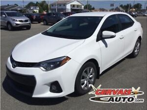 Toyota Corolla S Cuir/Tissus A/C **Inspection complète** 2014