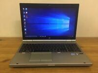 HP EliteBook 8560p Core i5-2540M 2.60GHz 8GB 500GB SSHD Win 10 Laptop