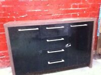 Wood & metal drawer unit available ASAP