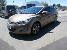 2013 Hyundai Elantra MD3 Premium Gold 6 Speed Sports Automatic Sedan Hillcrest Port Adelaide Area Preview