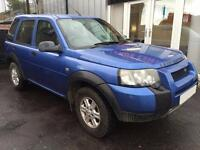 LAND ROVER FREELANDER 1.8 E STATION WAGON 5d 116 BHP (blue) 2004