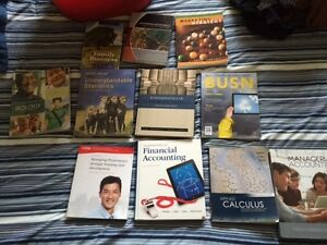 Brock University BBA Text Books for Sale