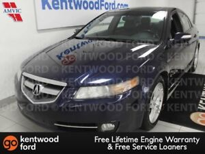 2008 Acura TL TL with power leather heated seats, sunroof and a