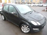 SMART FORFOUR 1.1 COOLSTYLE RHD 5d 63 BHP (black) 2006