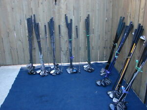 ladies and Mens's Golf club sets RH & LH with golf bag