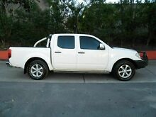 2012 Nissan Navara D40 S6 MY12 ST White 5 Speed Sports Automatic Utility Molendinar Gold Coast City Preview
