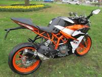 KTM 390 373.2cc RC 390 ABS (2017) Supersport 2017MY RC 390
