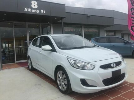 2017 Hyundai Accent RB6 MY18 Sport White 6 Speed Sports Automatic Hatchback Fyshwick South Canberra Preview