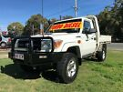 2013 Toyota Landcruiser VDJ79R MY12 Update GX (4x4) White 5 Speed Manual Cab Chassis Clontarf Redcliffe Area image 2