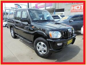 2010 Mahindra Pik-Up S5 MY10 Black 5 Speed Manual 4D Utility Holroyd Parramatta Area Preview