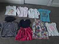 4-5 girls bundle - 8 items. Boden, M&S, Bluezoo, Gap, Mayoral, White Co, Hello Kitty