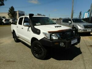 2012 Toyota Hilux KUN26R MY12 SR5 (4x4) 4 Speed Automatic Dual Cab Pick-up Wangara Wanneroo Area Preview