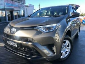 2017 Toyota RAV4 ZSA42R GX Grey Constant Variable Wagon Lansvale Liverpool Area Preview