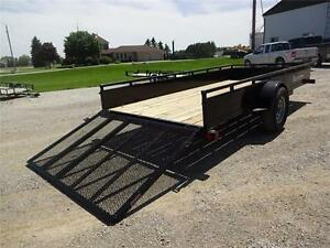 2017 Load Trail Single Axle Solid Side Utility SS Model!! London Ontario image 8