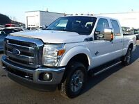 2011 Ford F-250 FORD SUPER DUTY F-250 LARIAT CREW LEATHER LOADED