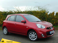 NISSAN MICRA 1.2 ACENTA 5d (red) 2014